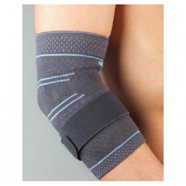 Бандаж на локтевой сустав тканый с силиконовой вставкой Aurafix 304