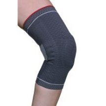 Бандаж для коленного сустава 3D вязка(с силиконовым кольцом и спиральными металлическими ребрами жесткости) Armor ARK9103