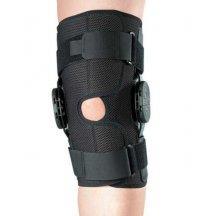 Бандаж на коленный сустав со специальными шарнирами для регулировки угла сгибания ORTOP ES-797