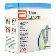 Ланцеты Abbot Thin Lancets 200 шт (Универсальные)