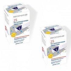 Тест-полоски Bionime Rightest GS550 25 шт