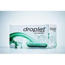Иглы для инсулиновых шприц-ручек Droplet, 10 мм, 29G (0,33 мм) №100, универсальные