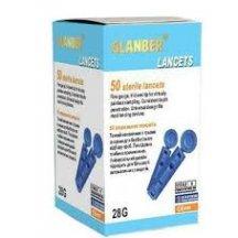 Ланцеты стерильные одноразовые GLANBER 28G l