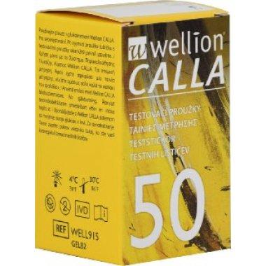 Тест-полоски Wellion Calla Light, 50 шт