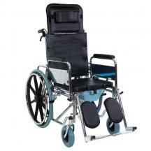 Коляска инвалидная многофункциональная с санитарным оснащением G124