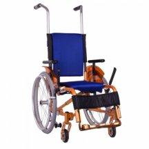 """Детская активная складная инвалидная коляска """"ADJ Kids"""" OSD-ADJK-М (оранжевая)"""