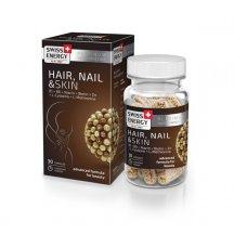 Витамины в капсулах Swiss Energy Hair, Nail & Skin №30