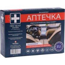 Аптечка медицинская автомобильная-1 АВТОКОМПЛЕКТ (АМА-1), типа «Евростандарт», со светоотражающим жилетом