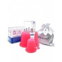 Банки силиконовые массажные Matwave MW-04 Pink