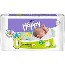 Подгузники Bella Happy Before Newborn 0 (до 2 кг, 25 штук)