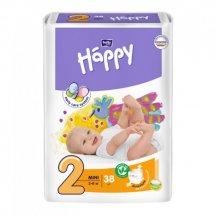 Подгузники детские Bella Happy 2 Mini (3-6 кг, 38 штук)