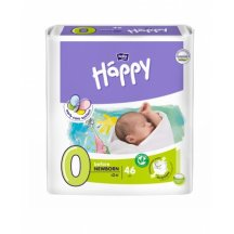 Подгузники Bella Happy Before Newborn 0 (до 2 кг, 46 штук)