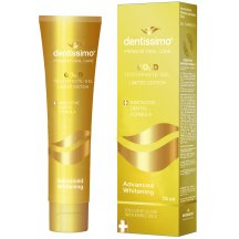 Зубная паста Dentissimo Advanced Whitening Gold, 75 мл 24298