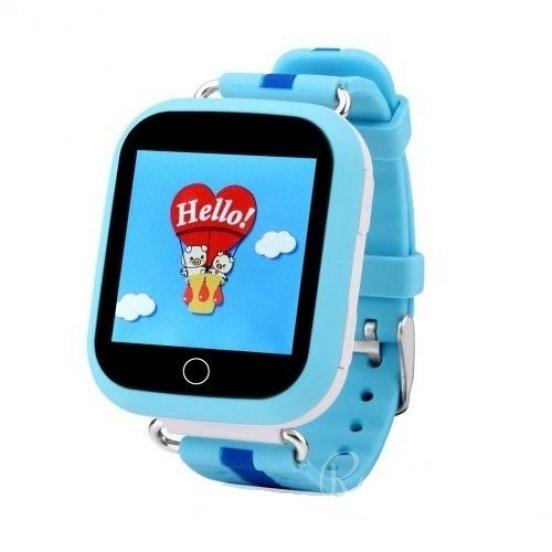 Smart baby watch Smartix GPS DF25 (Q100 AQUA) blue 4a00a31ebe6c5