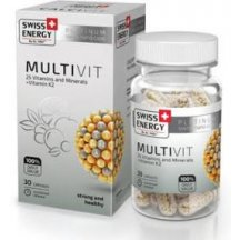 Витамины в капсулах Swiss Energy MultiVit №30