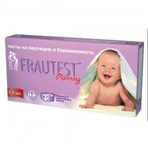 Тест для определения овуляции и беременности Frautest Planning 5+2