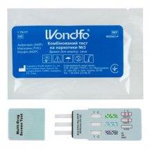 Экспресс-тест Wondfo на 3 наркотика: марихуана, морфин, амфетамин