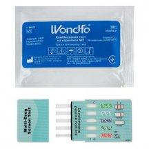 Экспресс-тест Wondfo на 5 наркотиков: амфетамин, метамфетамин, марихуана, морфин, кокаин