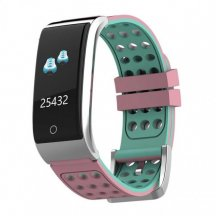 Smart band Smartix E08 tonometr+ЭКГ pink