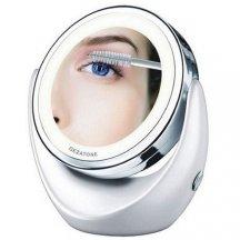 Зеркало косметическое с 5х увеличением и подсветкой Gezatone LM 110