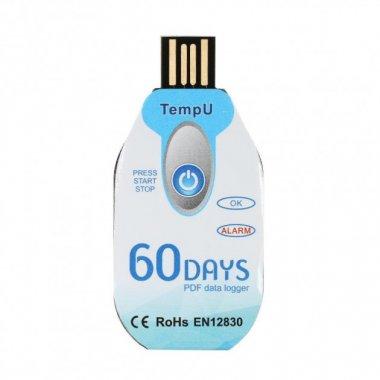 Одноразовый регистратор температуры Tempu 60 дней