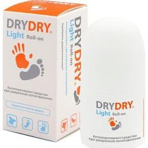 Дезодорант для тела DRYDRY Light, 50 мл