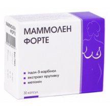 Нутримед Маммолен Форте капсулы №30