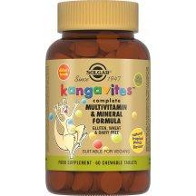 SOLGAR KANGAVITES MULTIVITAMIN, MINERAL Солгар Кангавитес с мультивитаминами и минералами со вкусом тропических фруктов таблетки №60