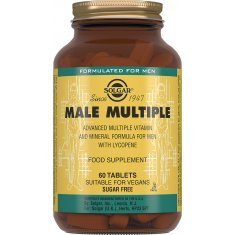 SOLGAR MALE MULTIPLE Солгар Комплекс витаминов для мужчин №60