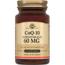 SOLGAR COENZYME Q-10 Солгар Коэнзим Q-10 60 мг капсулы №30