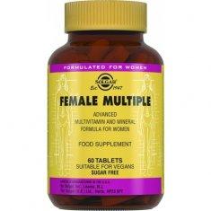 SOLGAR FEMALE MULTIPLLE Солгар Комплекс витамин для женщин таблетки №60