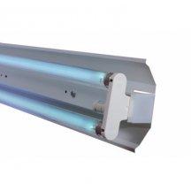 Лампа бактерицидная Праймед ЛБК - 600 с экраном DELUX озоновая