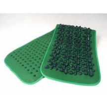 Аппликатор (коврик массажный с камнями) Fosta F 0811 зеленый