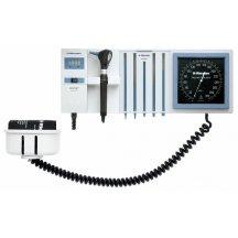 Настенная диагностическая станция Riester ri-former® 2 ручки 3,5 В/230 В, с часами  (без головок инструментов)