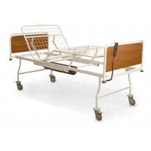 Кровать медицинская функциональная четырехсекционная с электроприводом Омега КФМ-4э