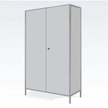 Шкаф для халатов медицинский двухстворчатый Завет  ШХМ-2