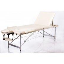 Стол массажный деревянный складной RESTPRO ALU 3 L Бежевый