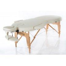 Стол массажный деревянный складной RESTPRO VIP OVAL 2 Бежевый