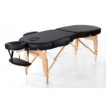 Стол массажный деревянный складной RESTPRO VIP OVAL 2 Черный