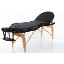 Стол массажный деревянный складной RESTPRO VIP OVAL 3 Чёрный