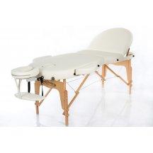 Стол массажный деревянный складной RESTPRO VIP OVAL 3 Бежевый