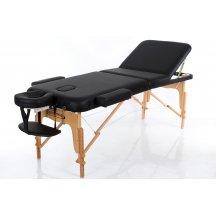 Стол массажный деревянный складной RESTPRO VIP 3 Черный