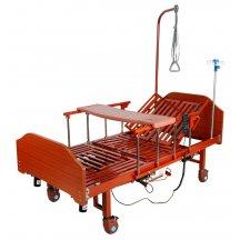 Кровать медицинская электрическая с боковым переворачиванием, туалетным устройством и функцией «кардиокресло» YG-3