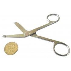 Ножницы для разрезания повязок с пуговкой 11 см (Н-14-2)