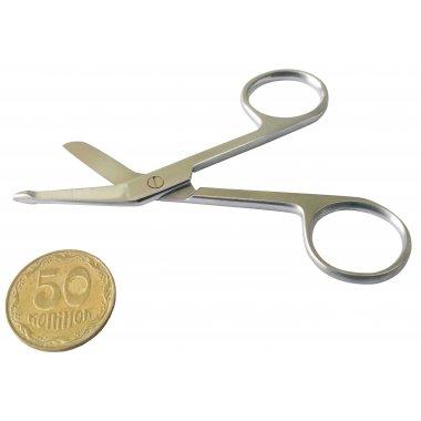 Ножницы для разрезания повязок с пуговкой 9 см (Н-14-3)
