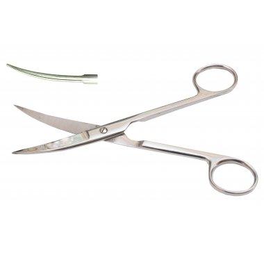 Ножницы с двумя острыми концами изогнутые 17 см (Н-4-2)