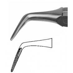 Щипцы для удаления корней нижней челести №35 (Щ-186)
