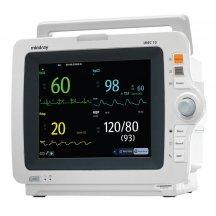 Монитор пациента IMEC10 укомплектованный аксессуарами: датчик SpO2, кабель ЭКГ для взрослых 5 отводов, набор NIBP аксессуаров, датчик накожный