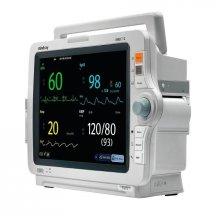 Монитор пациента IMEC12 укомплектованный аксессуарами: датчик SpO2, кабель ЭКГ для взрослых 5 отводов, набор NIBP аксессуаров, датчик накожный