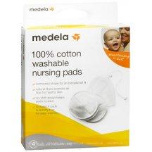 Многоразовые вкладыши для бюстгальтера Medela Washable Bra Pads 4 шт (008.0078)